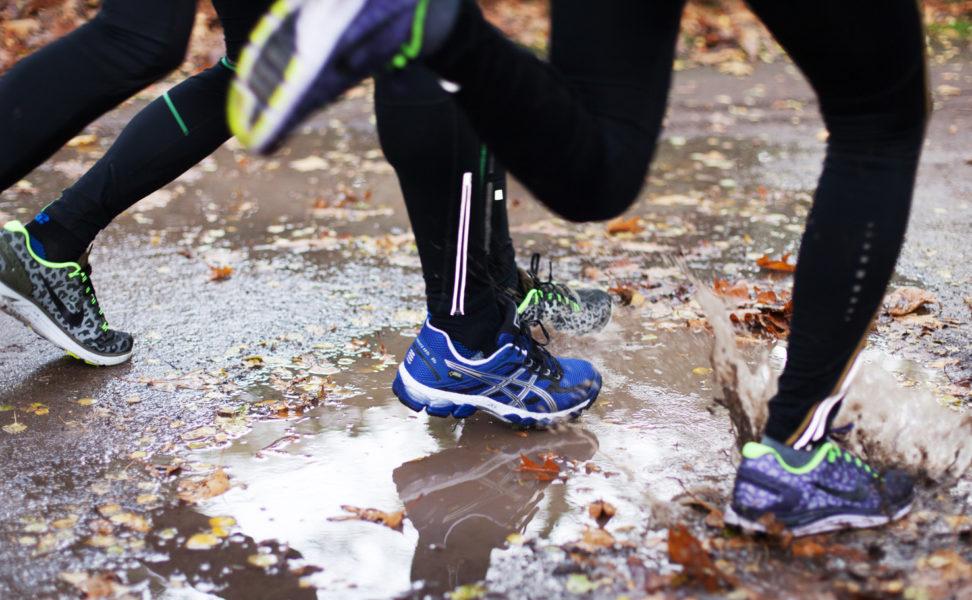 Gute Laufschuhe helfen keine Beschwerden zu haben