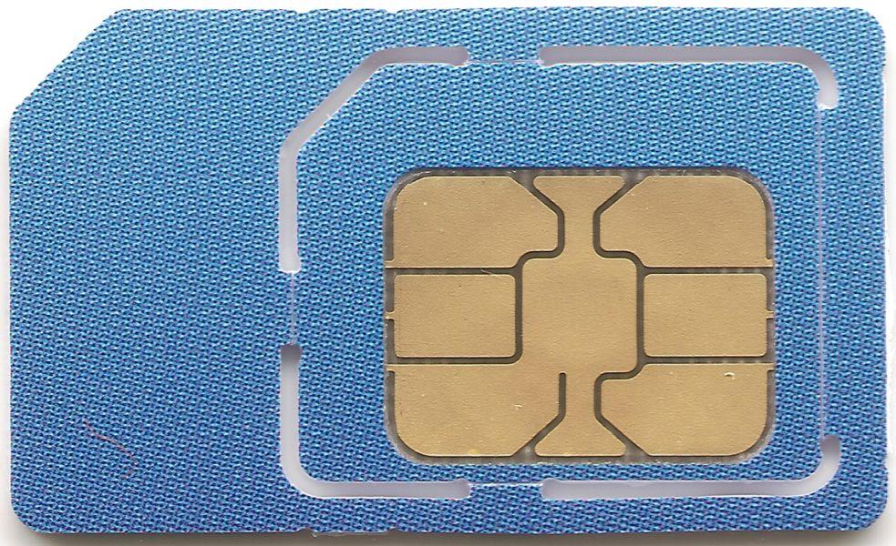 Eine kostenlose SIM- Karte im Internet anfordern