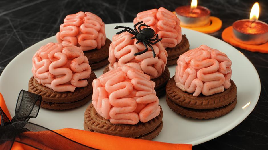 Halloween Eklige Süßigkeiten