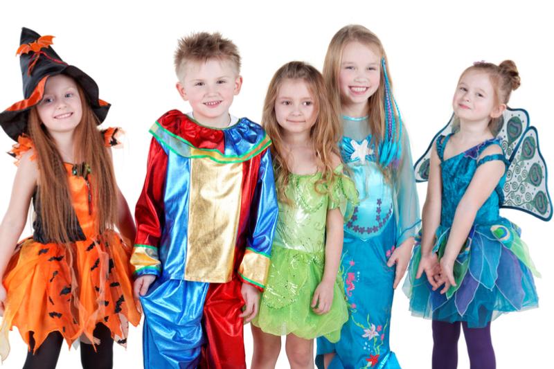 Die schönsten Karnevalskostüme für Kinder