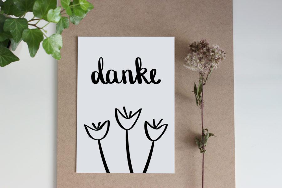 Danksagungskarten - der ultimative Weg Danke zu sagen