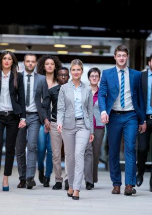 Moderne Stile der Unternehmensführung