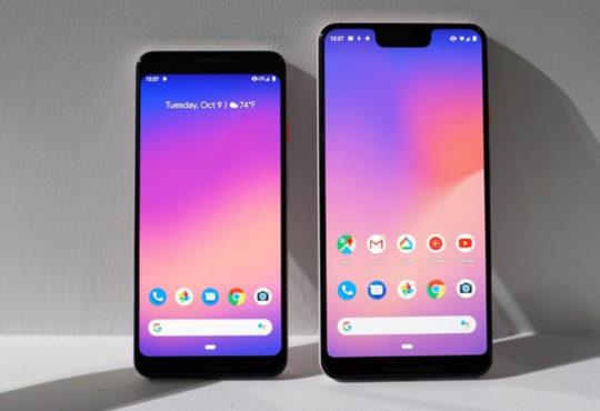 Das Pixel 3 von Google