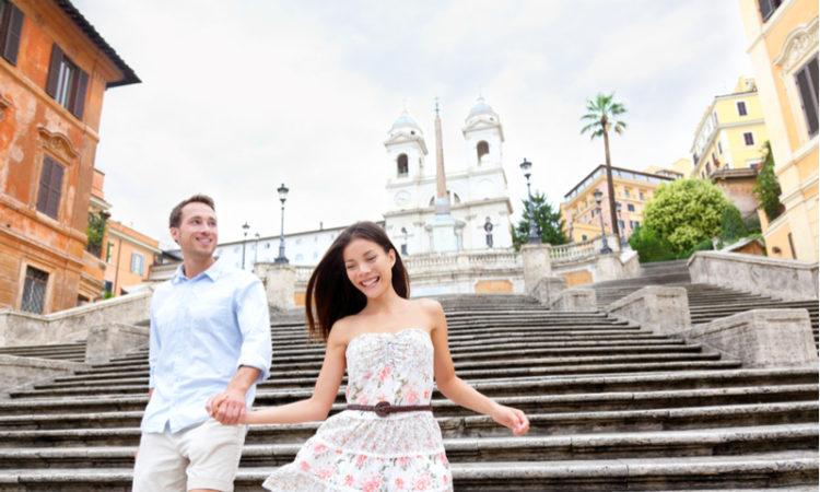 Parr unternimmt romantische Städtereise nach Rom am Valentinstag