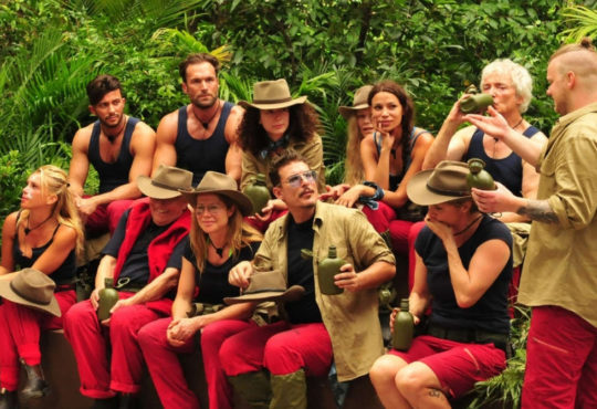 Prominente Kandidaten des Dschungelcamps, der TV-Sendung 'Ich bin ein Star, holt mich hier raus'