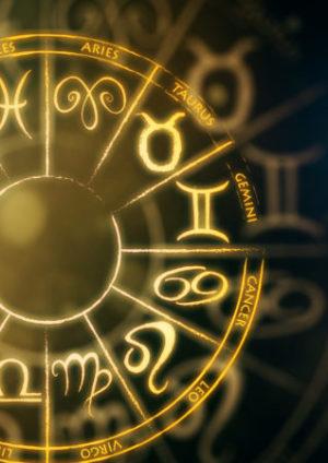 Alle Tierkreiszeichen als Symbole, Sternzeichen