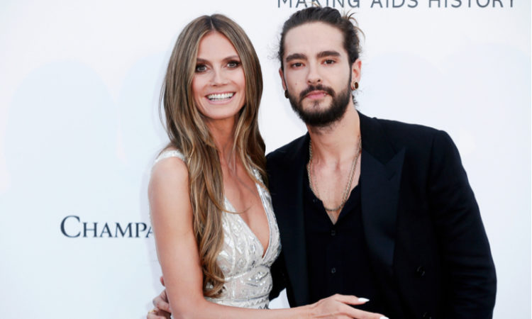 Heidi Klum und tom Kaulitz in Cannes 2018